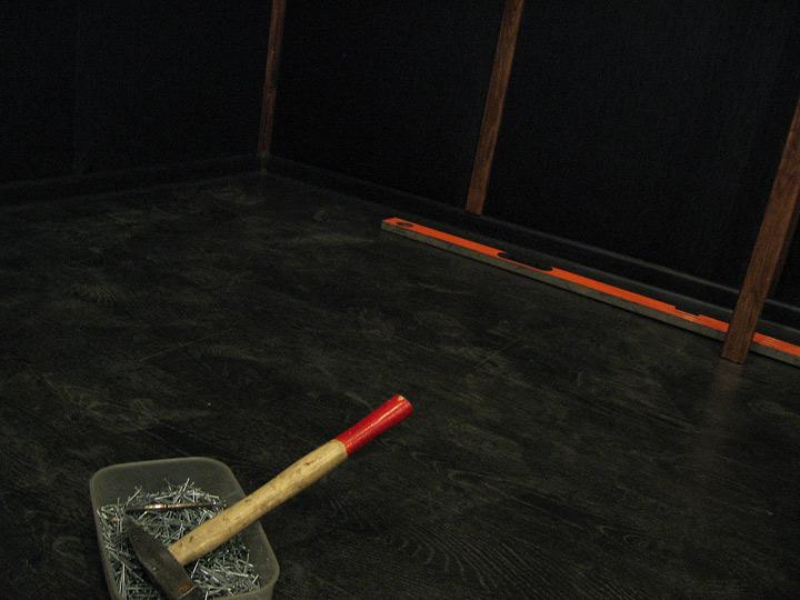 Ремонт комнат на репетиционной базе Red Gates